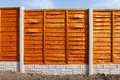 New Fence Panels Stock Photos - 36271313