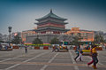 The Bell Tower In Xian Stock Photography - 36286572