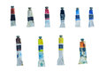 Color Tubes Royalty Free Stock Photos - 36292368