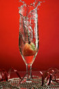 Glass With Champagne Stock Image - 3634141