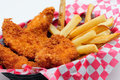 Breaded Chicken Strips Royalty Free Stock Photography - 36307757
