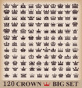 Icons Crown Vector Royalty Free Stock Photo - 36314705