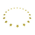 Circle Of Gold Stars Royalty Free Stock Images - 36319169