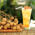 Longan Juice Cold Water Stock Photo - 36325670