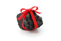 Coal With Red Ribbon Stock Photography - 36336162