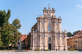 Visitationist Church In Warsaw, Poland Stock Photography - 36343962