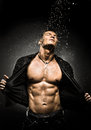 Muscular Sexy Guy Stock Photo - 36352080