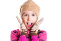 Little Girl Kid Surprised Royalty Free Stock Photos - 36365348