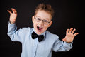 Little Boy With Funny Face Royalty Free Stock Photo - 36368685