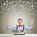 Young Journalist Royalty Free Stock Images - 36391099