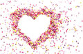 Pink Sweet Heart Of Candys Stock Photos - 36396133