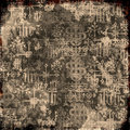 Grungy Text Background Royalty Free Stock Photography - 3643487