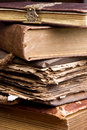 Antique Stack Of Books Royalty Free Stock Images - 3645989