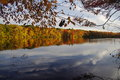 Reflected Autumn Colors Stock Photo - 36413480