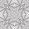 Black And White Oriental Pattern Royalty Free Stock Photos - 36427988