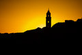 The Silhouette Of The City Rooftops In Dubrovnik Stock Photo - 36440910