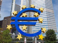 European Central Bank In Frankfurt Stock Images - 36444794