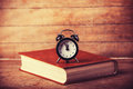 Alarm Clock And Book. Royalty Free Stock Images - 36470189