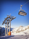 Ski Lift Chair Royalty Free Stock Images - 36478329