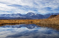 Sierra Mountains Reflection Royalty Free Stock Photography - 36489667
