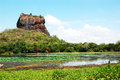 The Sigiriya (Lion S Rock) Is An Ancient Rock Fortress Royalty Free Stock Photography - 36493697