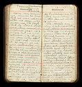American WWI Soldier Diary Pages Stock Images - 36509084