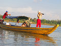 Tourists On Mekong River Royalty Free Stock Images - 36510429