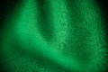 Green Background Abstract Cloth Wavy Folds Of Textile Texture Stock Photos - 36512253