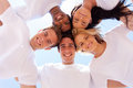 Group Friends Circle Stock Photo - 36517510