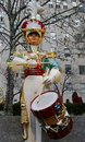 Wooden Soldier Drummer Christmas Decoration At The Rockefeller Center In Midtown Manhattan Royalty Free Stock Photo - 36518415