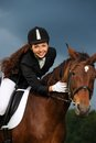 Girl With Her Horse Royalty Free Stock Photos - 36530568