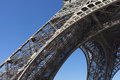 Detail Of Eiffel Tower, Paris. Stock Image - 36531981