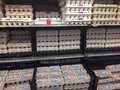 Egg Selection Fred Meyer Springfield, OR Stock Image - 36538291