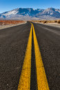 Double Yellow Lines In Middle Of Road Stock Photos - 36544423
