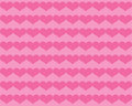 Dark Pink Valentine Hearts On Lighter Pink Background Royalty Free Stock Image - 36545396