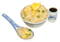 Chinese Egg Fried Rice Royalty Free Stock Photography - 36550487