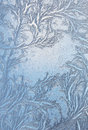Window Frost Pattern On Glass Stock Photos - 36557153