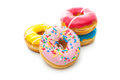 Delicious Donuts With Sprinkles Royalty Free Stock Images - 36560479