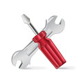 Screwdriver And Corkscrew  Royalty Free Stock Images - 36565799