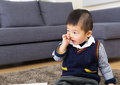Little Boy Picking Nose Stock Photography - 36570002