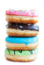 Stack Of Fresh, Colorful Donuts Stock Image - 36601911