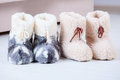 Wool Slippers Stock Photography - 36609652