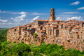 Pitigliano City On The Cliff, Italy Royalty Free Stock Image - 36626756