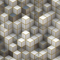 Building Structure From Cubes. Abstract Architecture Backgrounds Royalty Free Stock Photos - 36641798