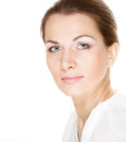 Young Adult Woman With Health Skin Of Face Royalty Free Stock Image - 36646056