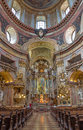 Vienna - Presbytery And Nave Of Baroque St. Peter Church Or Peterskirche By Antonio Galli Da Bibiena Und Martino Altomonte (altar Royalty Free Stock Photos - 36651058