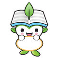 The Environmental Mascot Holding A Board. Nature Fairy Character Stock Images - 36656194