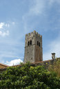 Belfry Old Lutheran Church. The Town Of Motovun, Croatia Stock Images - 36659884