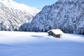 Alps Winter Chalet 2 Stock Images - 36660224