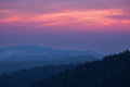 Twilight, Great Smoky Mountains Royalty Free Stock Photography - 36663907